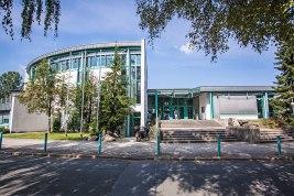 Fachhochschule Südwestfalen Meschede Haupteingangsbereich